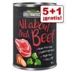 Greenwoods Adult 6 x 400 g en oferta: 5 + 1 ¡gratis!