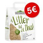 Greenwoods arena vegetal aglomerante 8 l ¡por solo 5 €!
