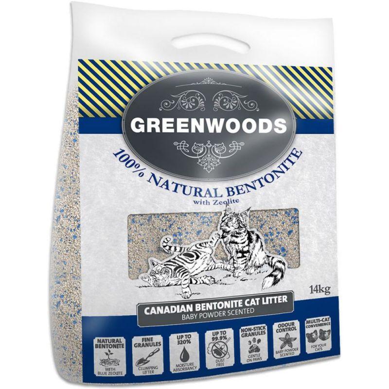 Greenwoods Bentonite: Klumpbildande, kanadensisk bentonit