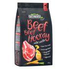 Greenwoods bœuf, lentilles, pommes de terre, carottes pour chien