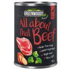 Greenwoods bœuf, patates douces, brocolis pour chien