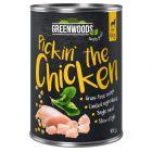 Greenwoods csirke, csicseriborsó & spenót