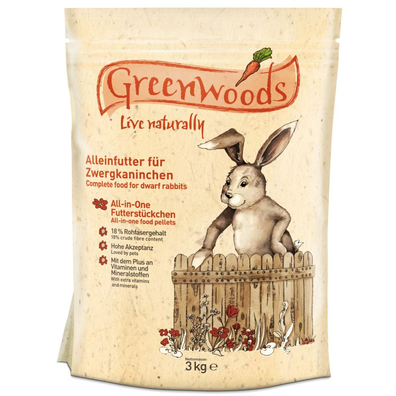 Greenwoods Dwarf Rabbit Food