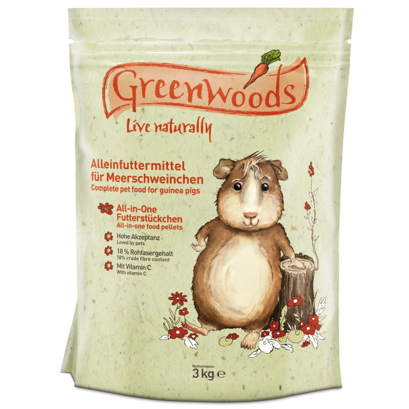 Greenwoods Guinea Pig Food