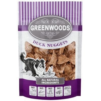 Greenwoods Nuggets Duck Dog Treats