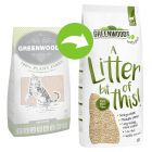 Greenwoods Plant Fibre přírodní hrudkující stelivo pro kočky