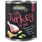 Greenwoods Turkey, Parsnip & Zucchini
