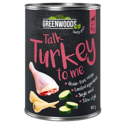 Greenwoods Turkey with Parsnip & Courgette