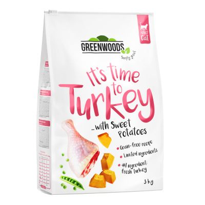 Greenwoods Turkey with Sweet Potatoes, Peas & Pumpkin