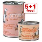 Greenwoods Wet Food for Ferrets - 5 + 1 Free!*