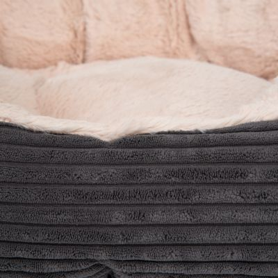 Grey Jumbo Pet Bed