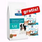 Großgebinde Hill's Prescription Diet + 2 x Hill's Hundesnacks gratis!