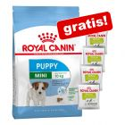 Großgebinde Royal Canin Trockenfutter Puppy + 4 x 50 g Educ Snacks gratis!