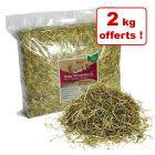 Hansepet Foin de prairie pour rongeur 10 kg + 2 kg offerts !