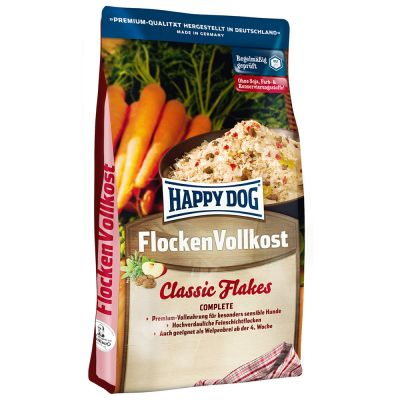 Happy Dog Flocken Vollkost Flocons pour chien