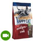 Happy Cat Adult, z wołowiną alpejską