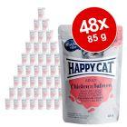 Happy Cat Buste Meat in Sauce 48 x 85 g