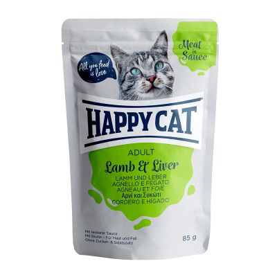 Happy Cat Buste Meat in Sauce 24 x 85 g
