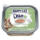 Happy Cat Duo Häppchen auf Paté Schälchen 12 x 100 g