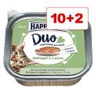 Happy Cat Duo Paté -rasiat 10 + 2 kaupan päälle!