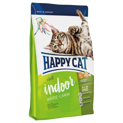 Happy Cat Indoor, agneau des pâturages pour chat