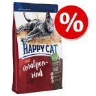 Happy Cat kissanruoka 10 kg erikoishintaan - 2 € alennusta!