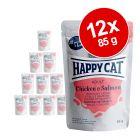 Happy Cat Meat in Sauce Kattenvoer 12 x 85 g