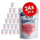 Happy Cat Meat in Sauce Kattenvoer 24 x 85 g