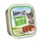 Happy Cat Minkas Duo Häppchen auf Paté Schälchen 12 x 100 g