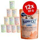 Happy Cat Mix kapsičky 12 x 85 g