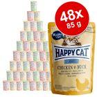 Happy Cat Mix kapsičky 48 x 85 g