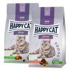 Happy Cat Senior -yhteispakkaus 2 x 4 kg