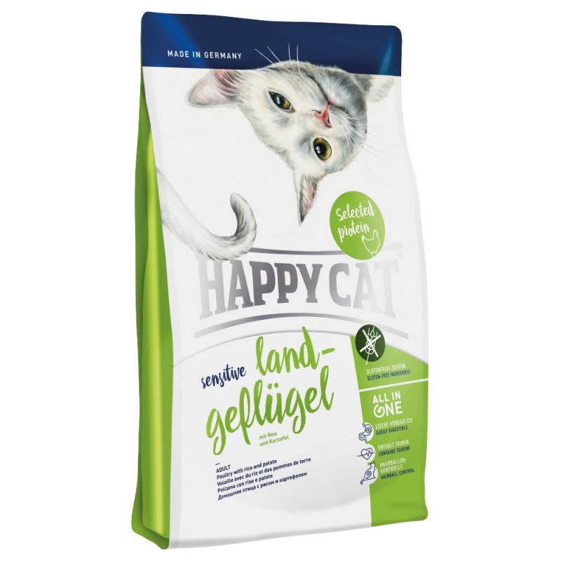 Happy Cat Sensitive Countryside Poultry