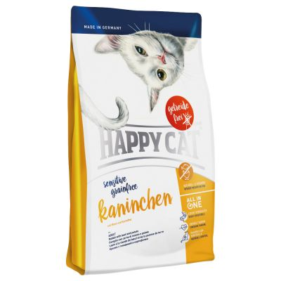 Happy Cat Sensitive Grainfree králičí