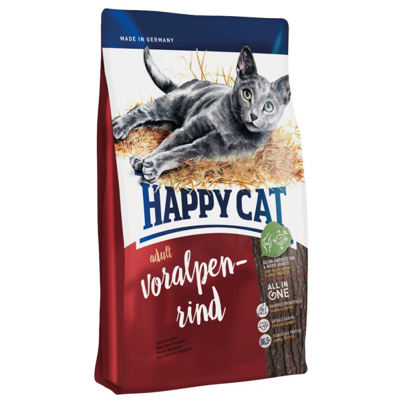 Happy Cat Supreme Adult Beef Dry Food
