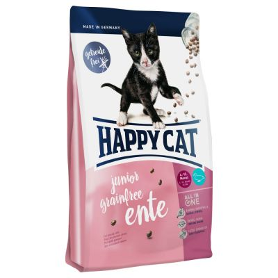 Happy Cat Supreme Junior Grainfree canard pour chaton