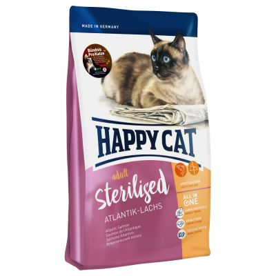 Happy Cat Supreme Sterilised Atlantische Zalm Kattenvoer