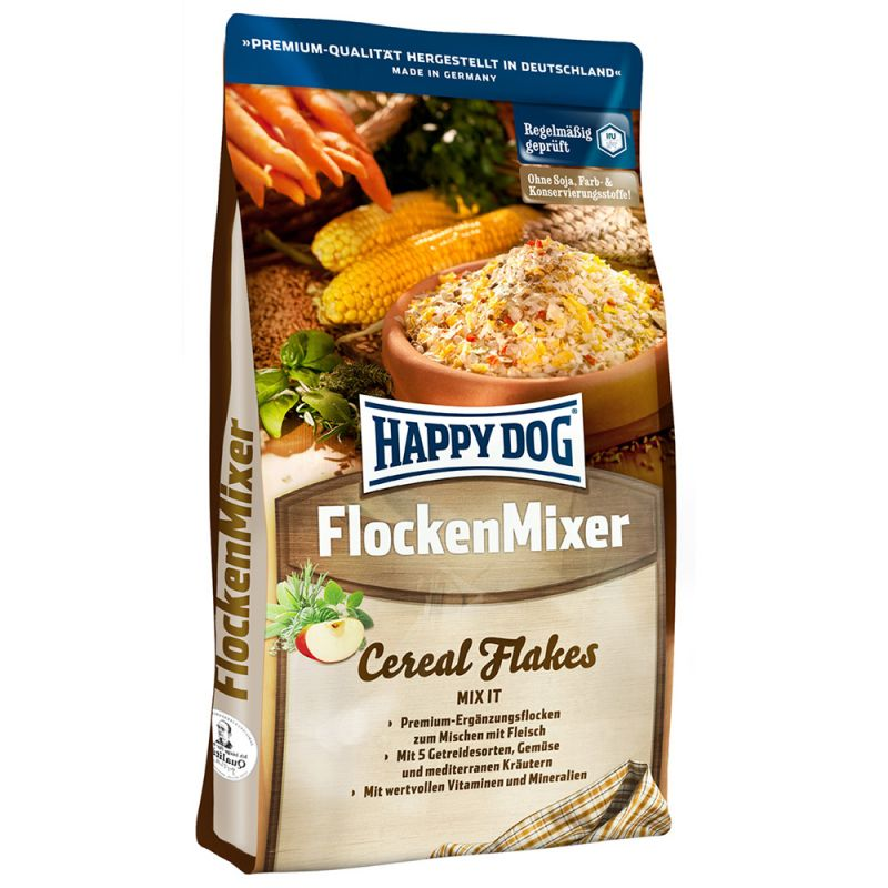 Happy Dog Cereal Flakes