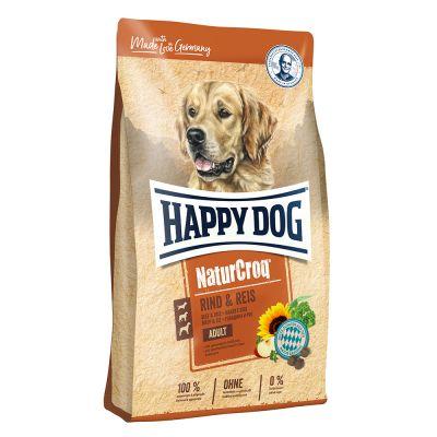 Happy Dog NaturCroq govedina z rižem hrana za pse ugodno v zoohit