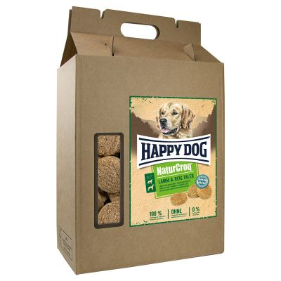 Happy Dog NaturCroq Lamm und Reis Taler