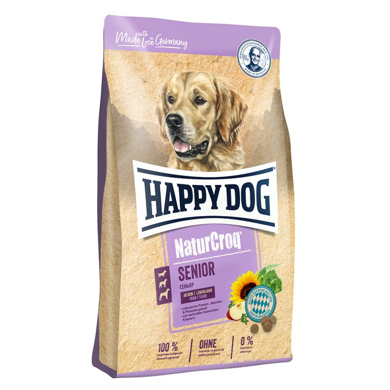 Happy Dog NaturCroq Senior pour chien âgé