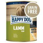 Happy Dog Pur - Agnello puro 6 x 800 g