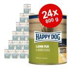 Happy Dog Pur -säästöpakkaus 24 x 800 g