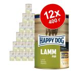 Экономупаковка Happy Dog Pur 12 x 400 г