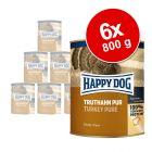 Happy Dog Pur 6 x 800 g pour chien