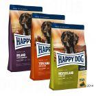 """Happy Dog Supreme """"Kulinarische Weltreise"""", 3 x 4 kg"""