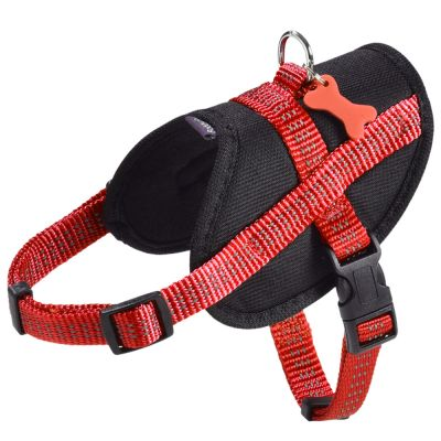 Harnais Bobby Easy Safe, rouge pour chien