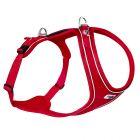 Harnais Curli Belka Comfort rouge pour chien