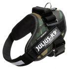 Harnais JULIUS-K9 IDC® Power, camouflage pour chien