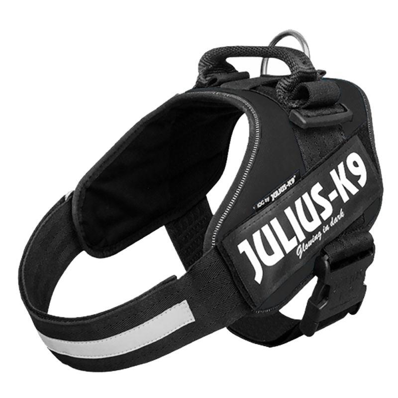 65-85 cm // 23-30 kg Julius K9 IDC Harnais pour chien Noir 1